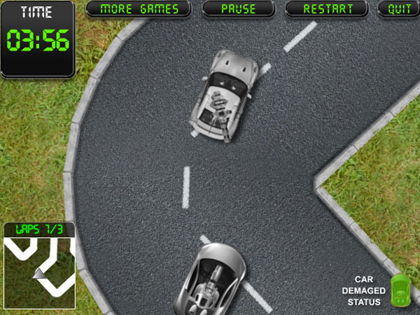 Arcade Racing - Click for fullscreen