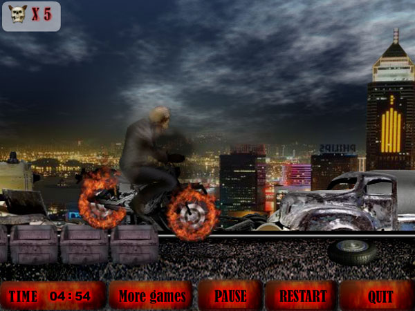 Windows 7 Devilish Motorbike 1.0 full
